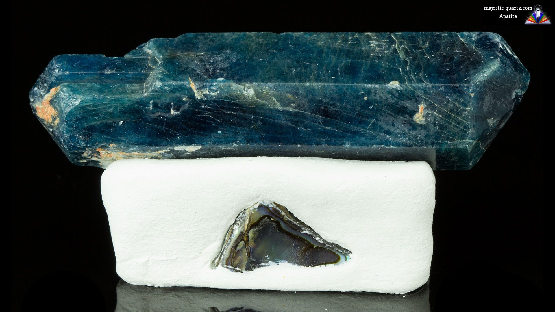 Double Terminated Apatite Specimen - Photograph by Anthony Bradford