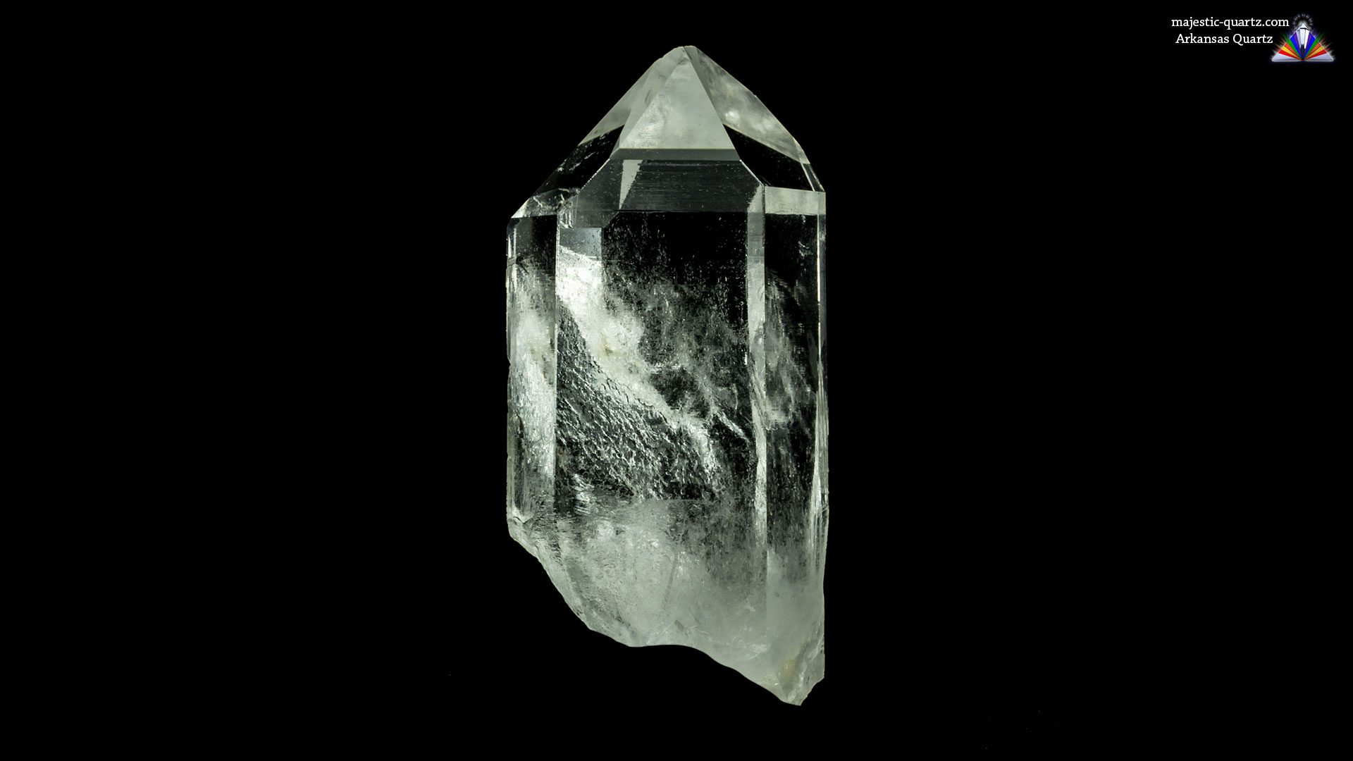 Arkansas Quartz Crystal - Photograph By Anthony Bradford - Crystal Dug By Charlotte!