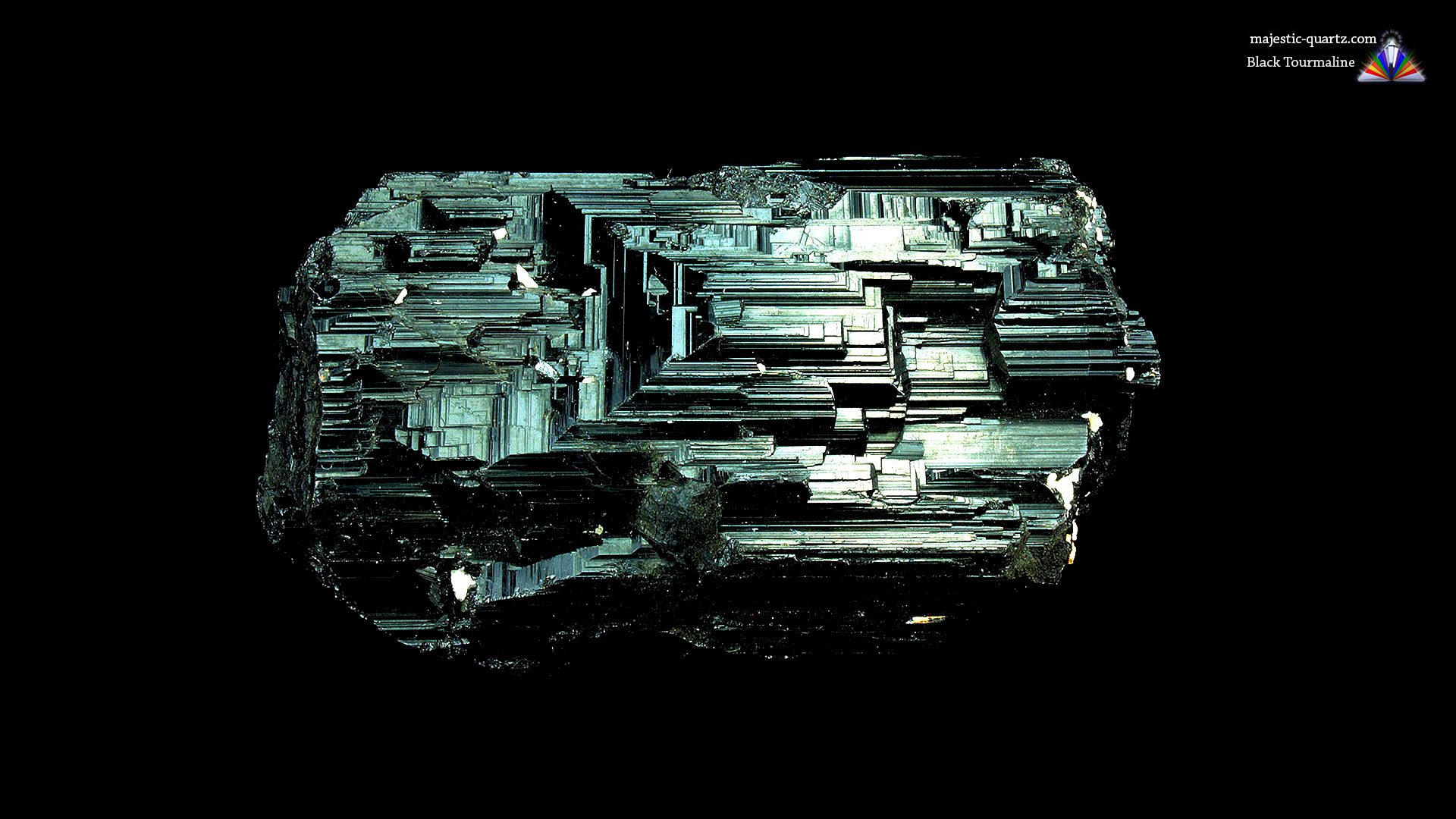 Black Tourmaline Crystal/Mineral Specimen - Photograph by Anthony Bradford