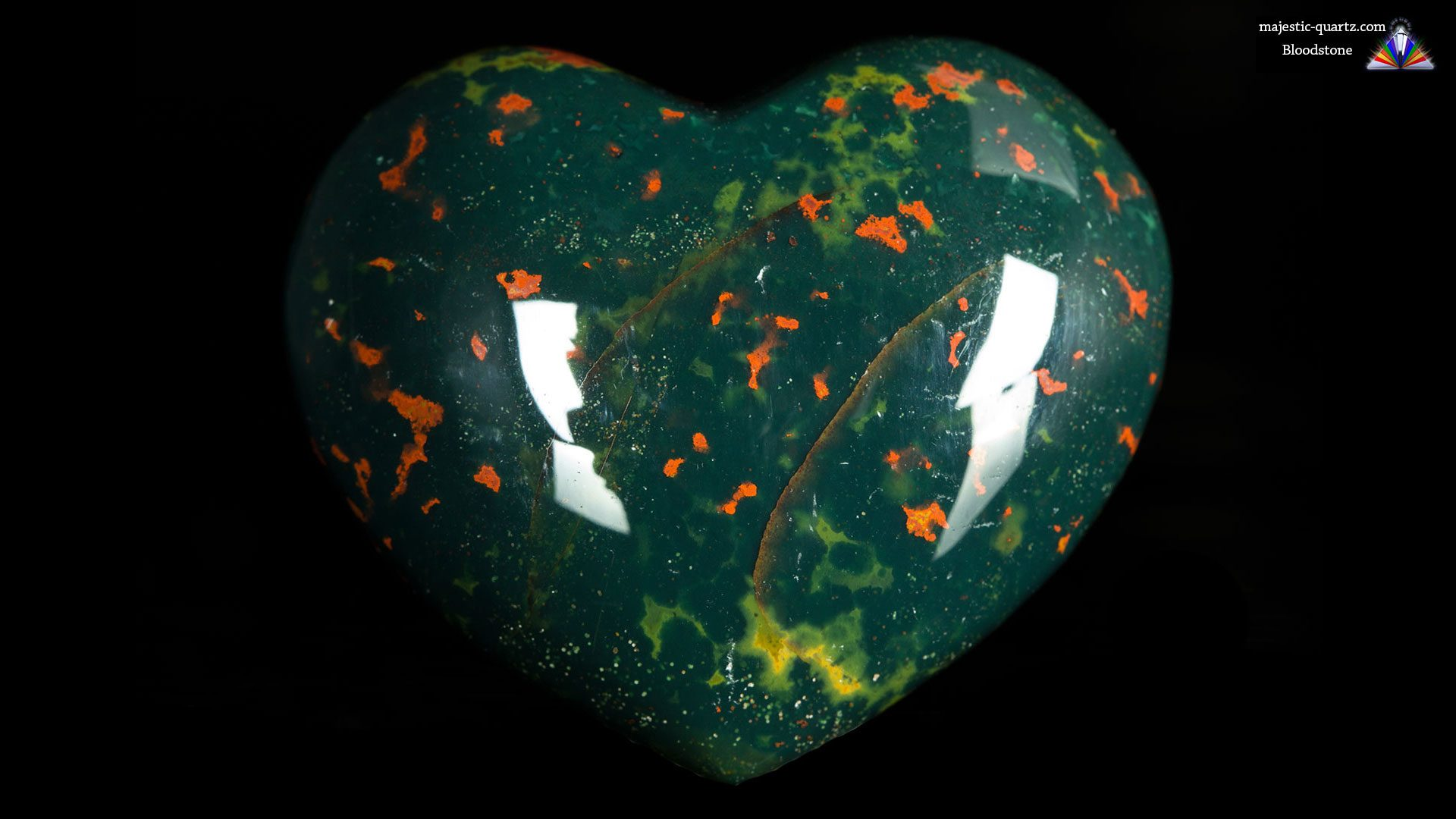 Bloodstone Heart - Photograph by Anthony Bradford