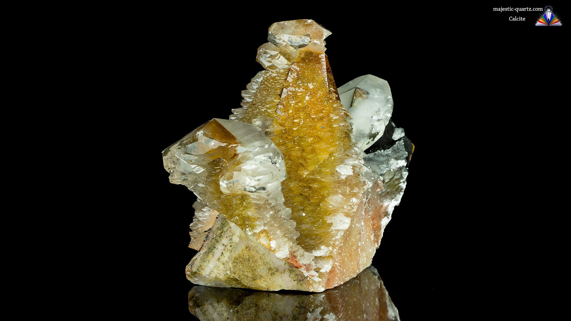 Terminated Calcite Crystal Specimen - Photograph by Anthony Bradford
