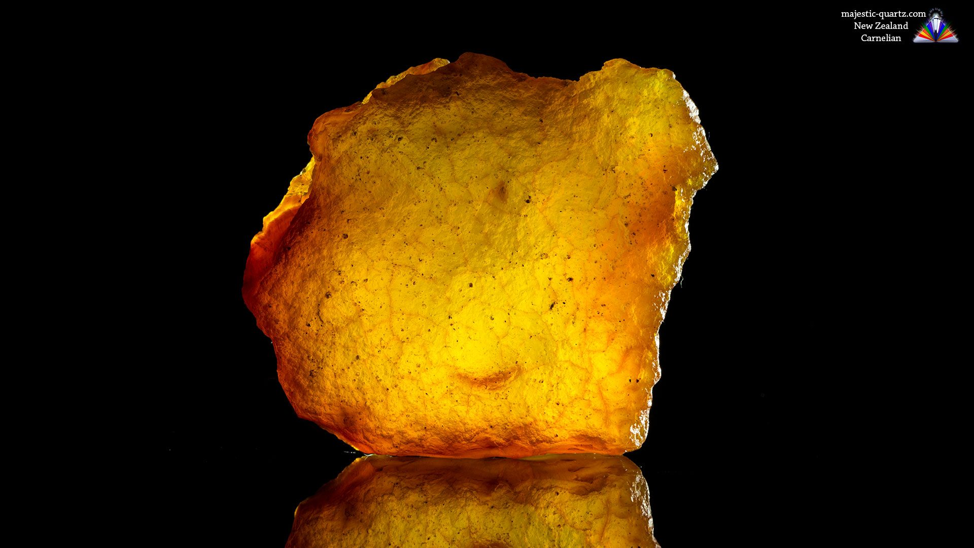 Genuine Carnelian Specimen From New Zealand - Photograph by Anthony Bradford