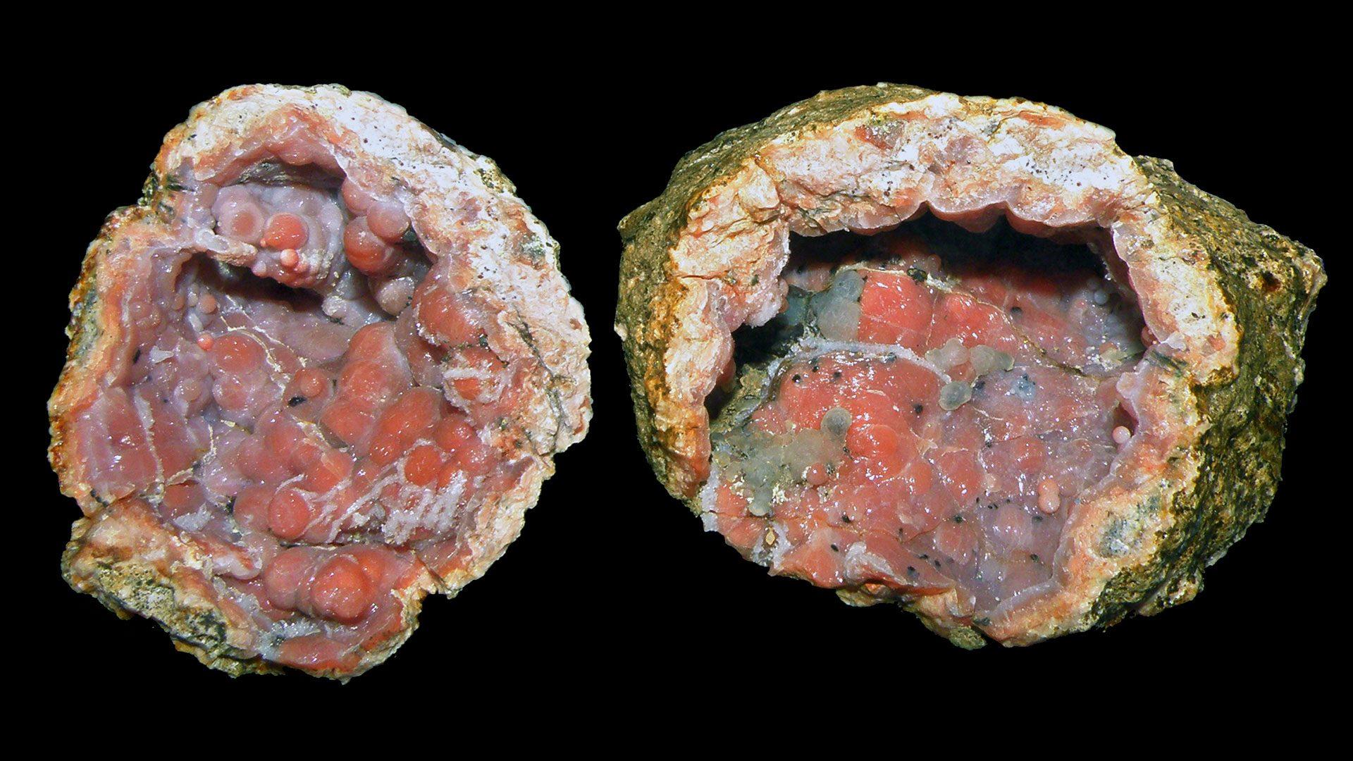 Chalcedony Crystal Specimen