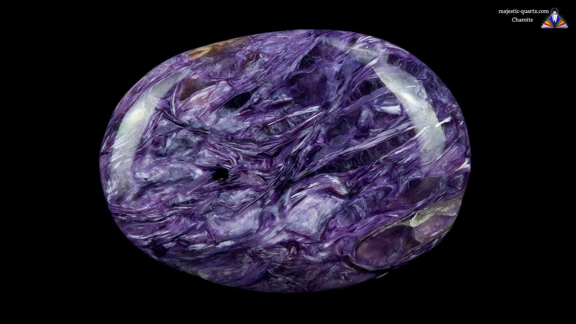 Charoite Mineral Specimen - Photograph by Anthony Bradford