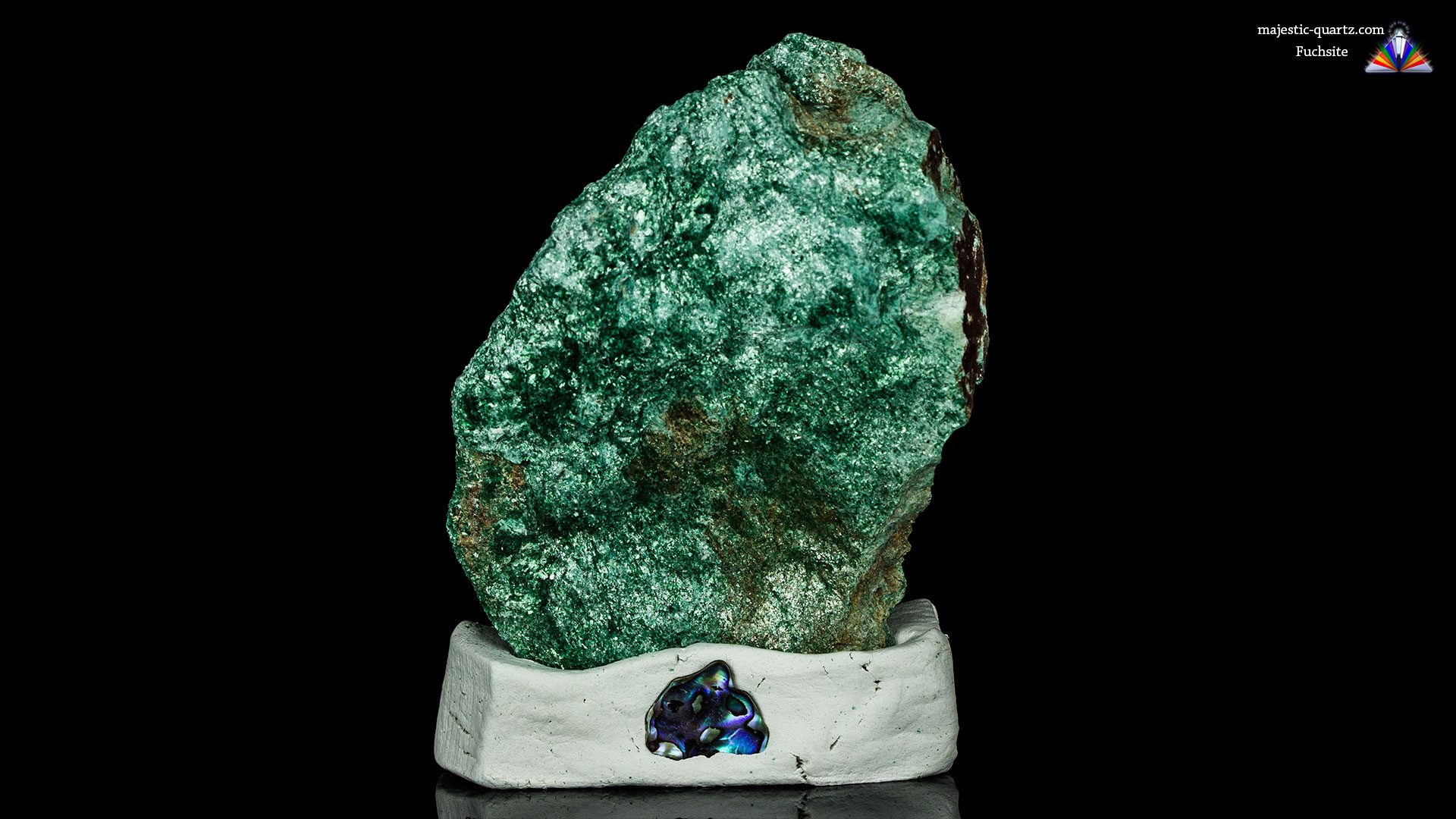 Fuchsite Properties and Meaning- Photograph by Anthony Bradford