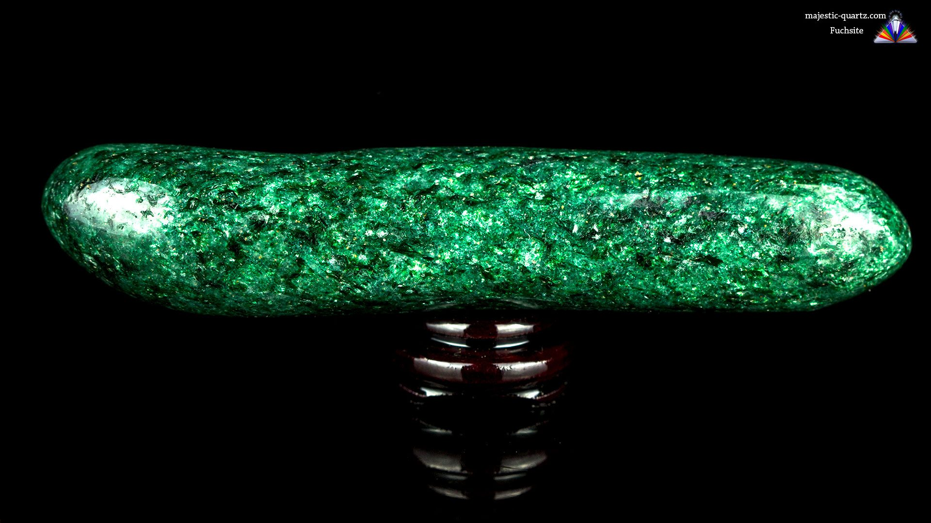 Fuchsite Wand - Photograph by Anthony Bradford