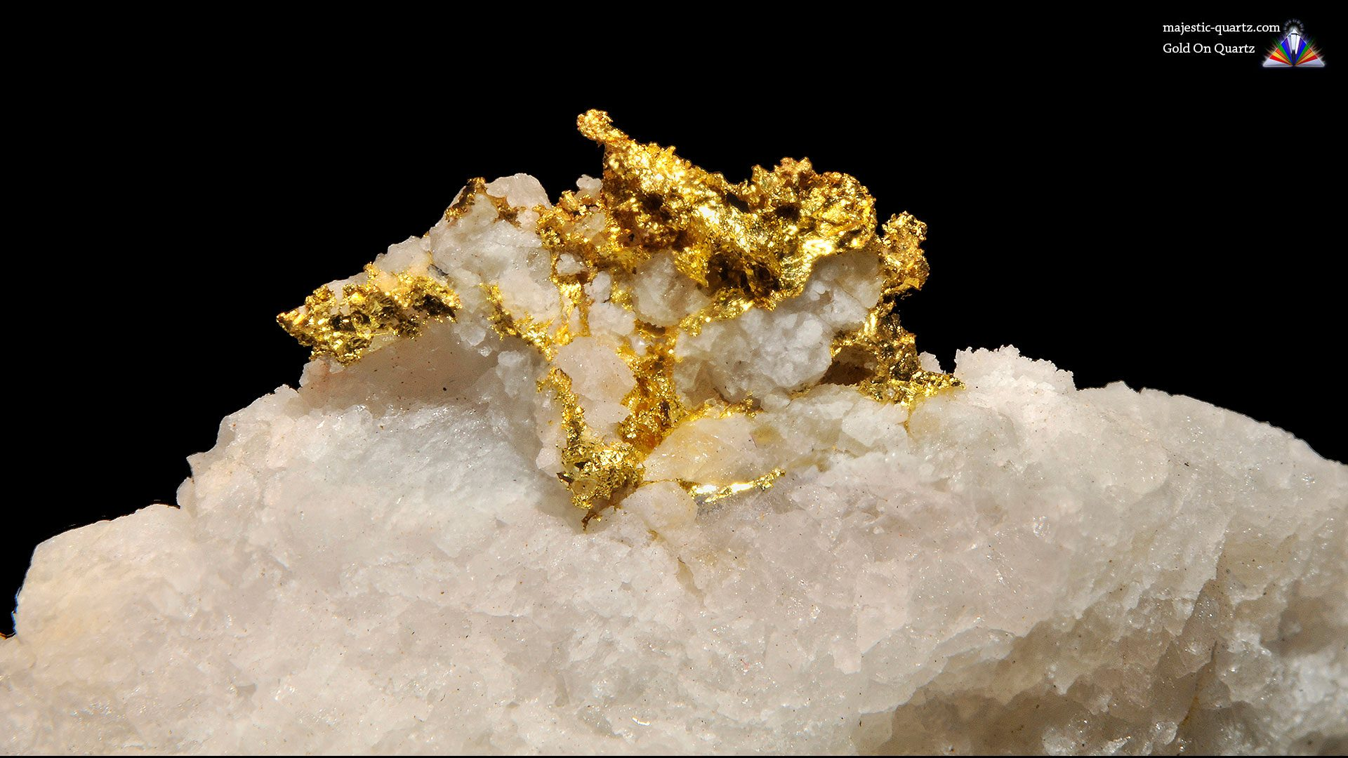 Gold Crystal Specimen - Mineral Specimen (Original Photograph by Parent Géry)