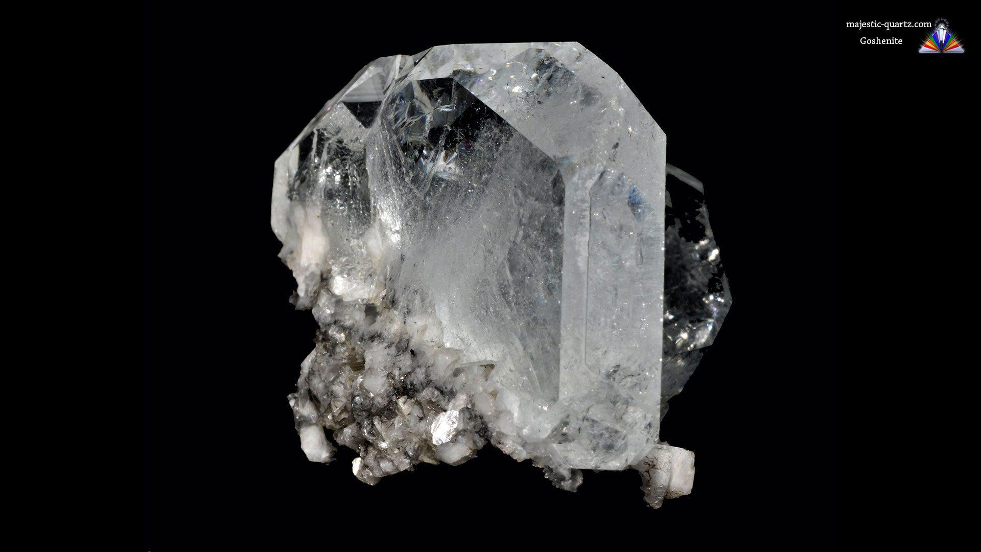 Terminated Goshenite Crystal Specimen - Mineral Specimen