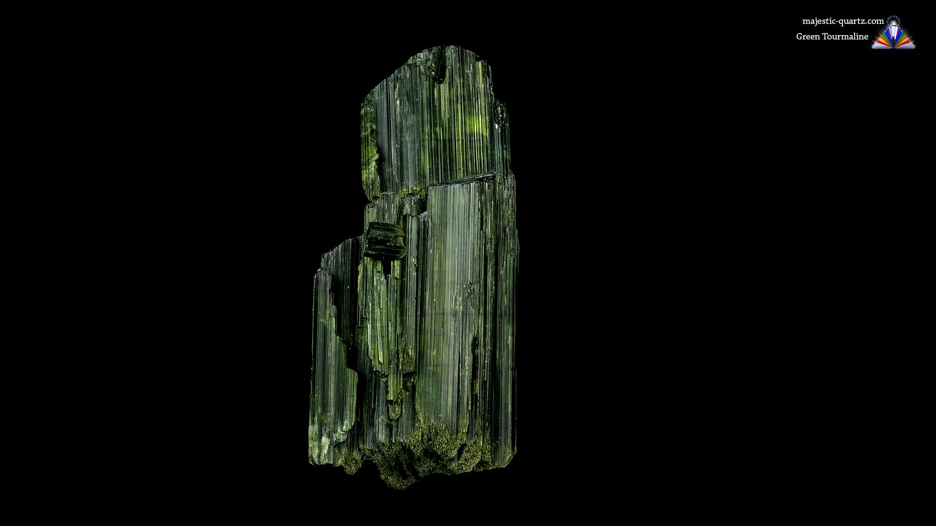 Green Tourmaline Properties and Meaning - Photgraph by Anthony Bradford