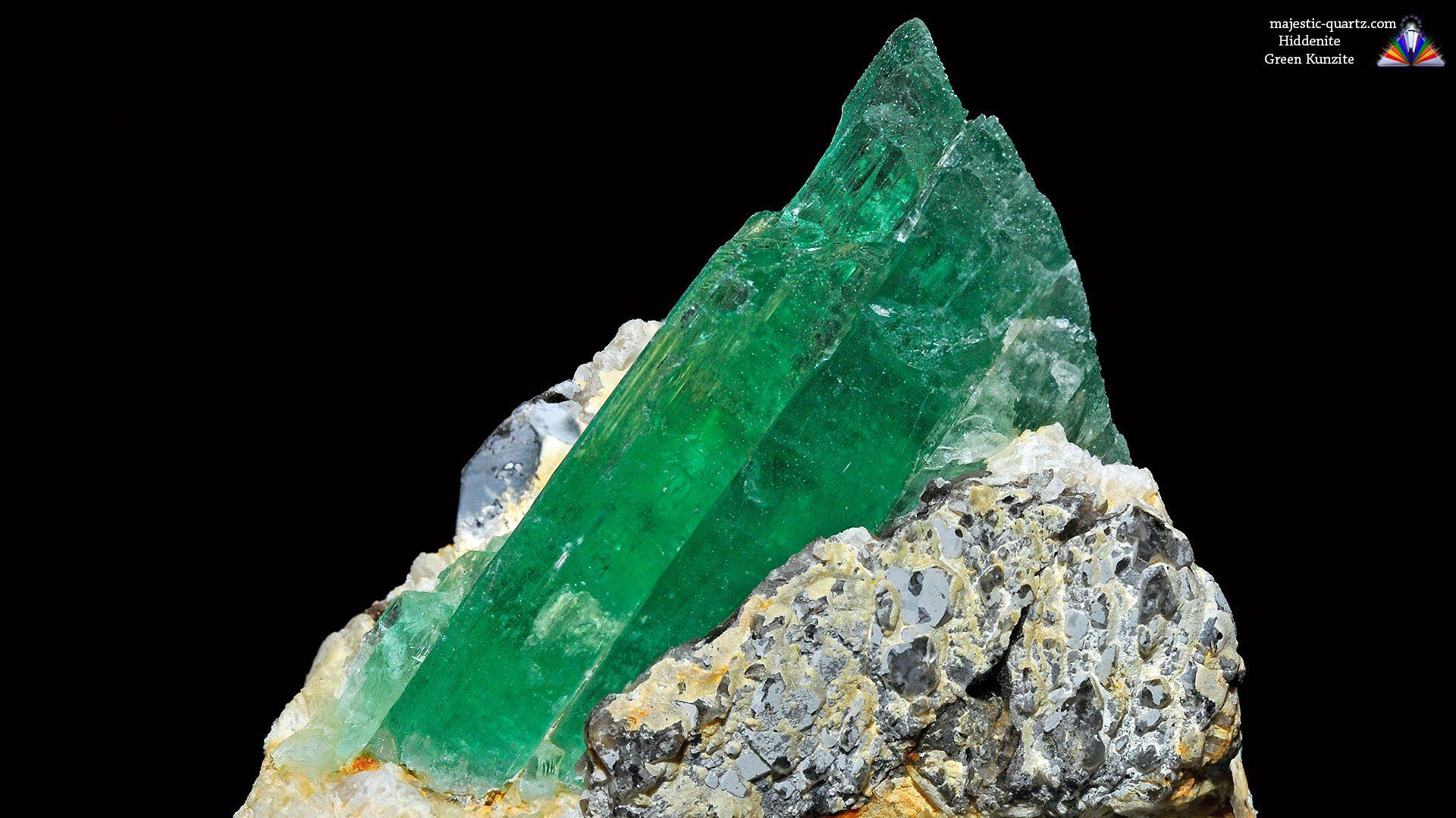 Terminated Kunzite Crystal Specimen - Mineral Specimen