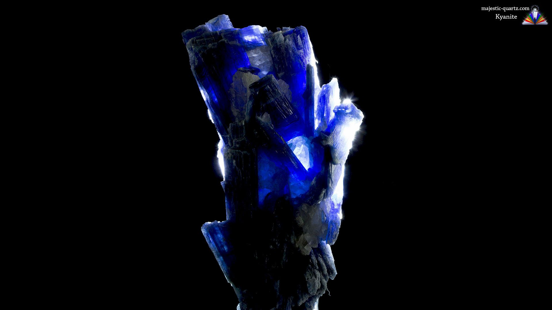 Terminated Blue Kyanite Mineral Specimen - Photograph by Anthony Bradford