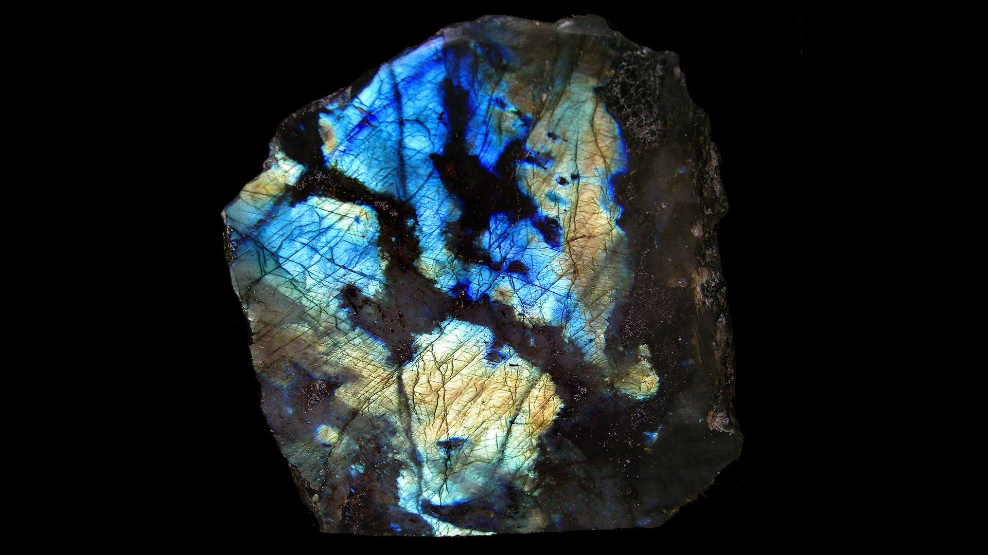 Labradorite Crystal Specimen - Mineral Specimen - Original Photo by Prokofiev