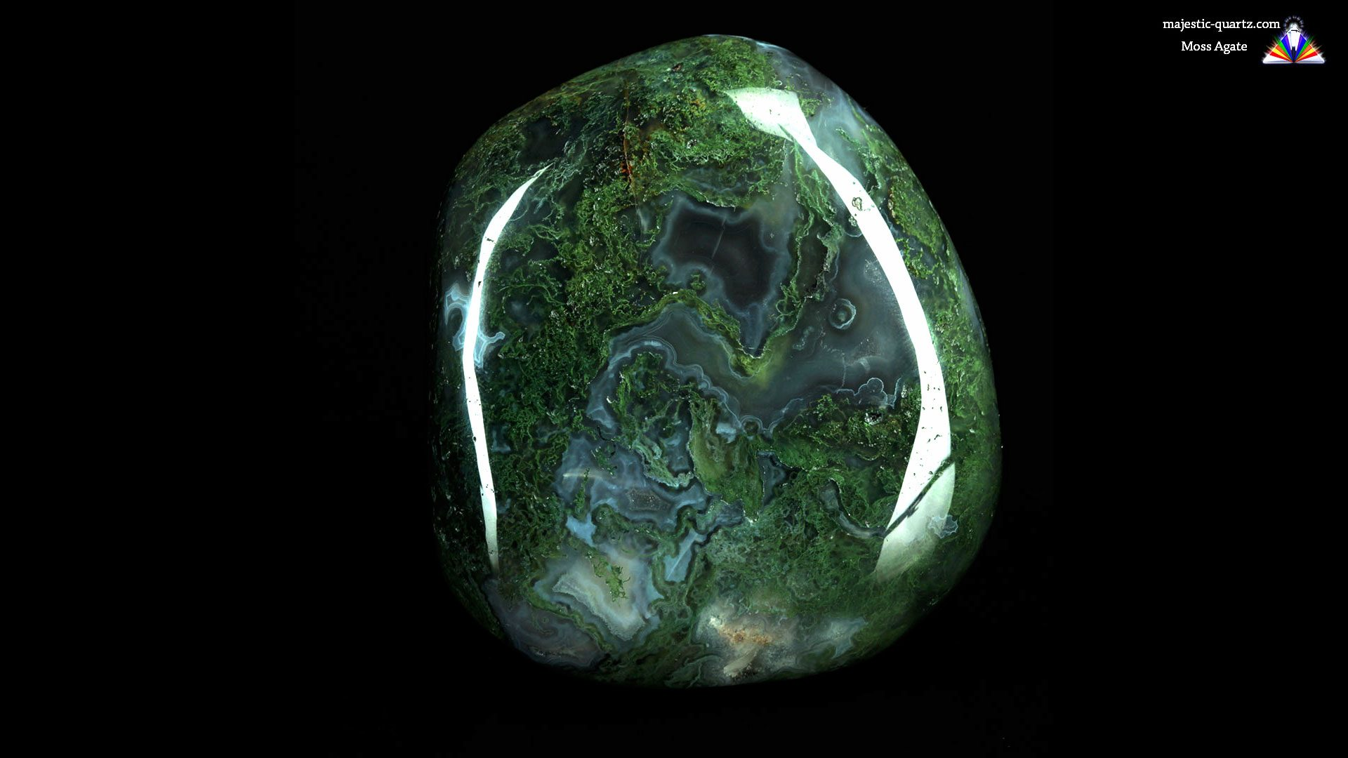 Moss Agate - Photograph by Anthony Bradford