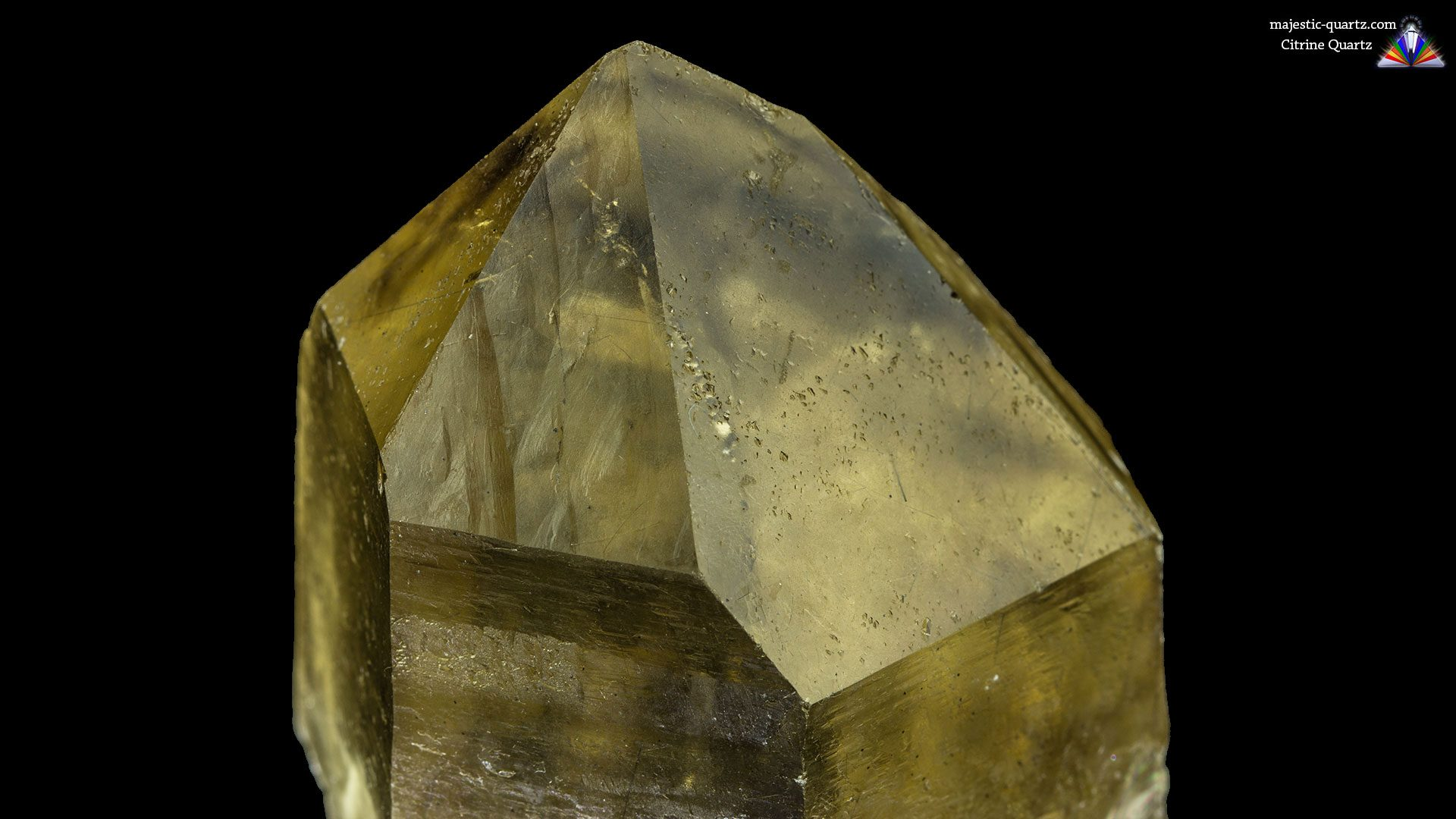 Citrine Quartz Properties and Meaning - Photograph by Anthony Bradford