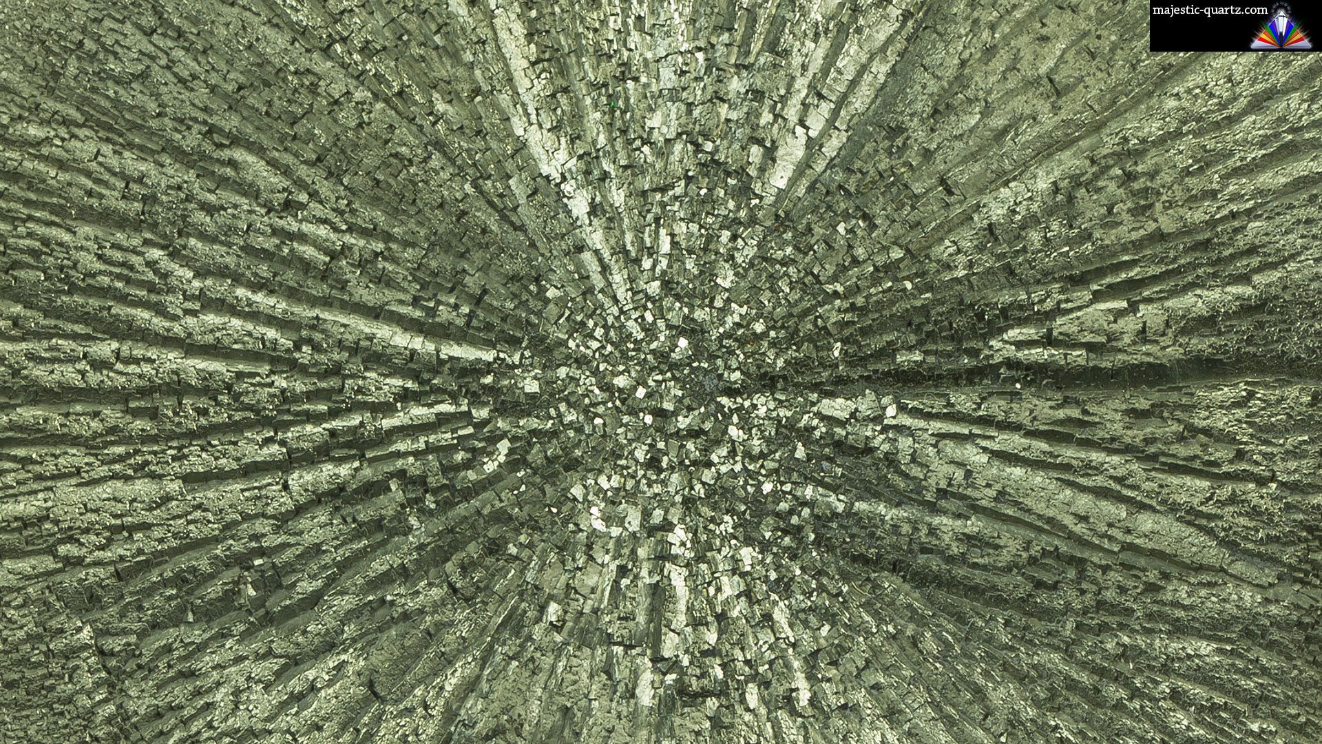 Close Up of a Pyrite Sun - Photograph by Anthony Bradford