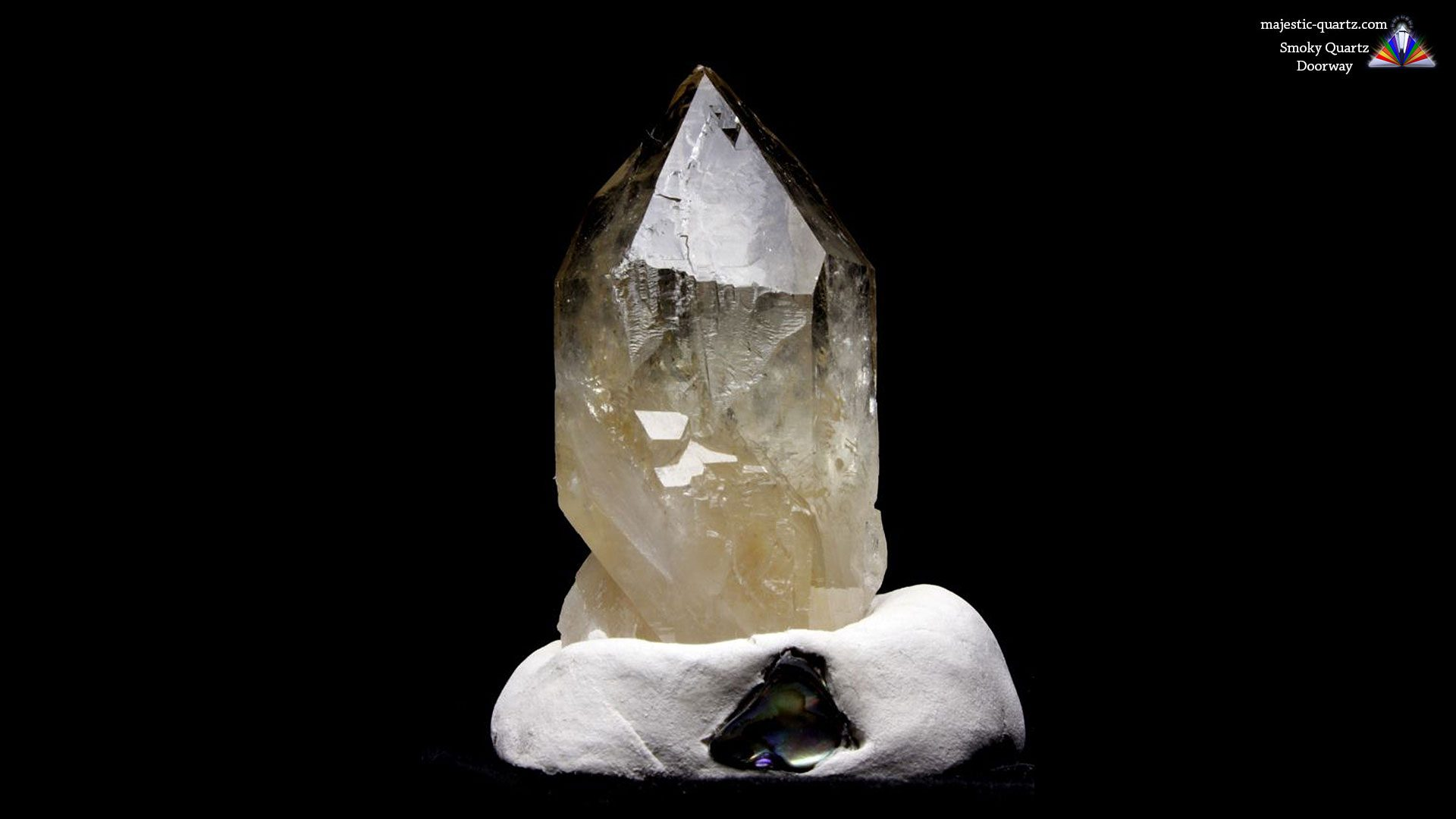 Quartz Doorway Properties and Meaning - Photograph by Anthony Bradford
