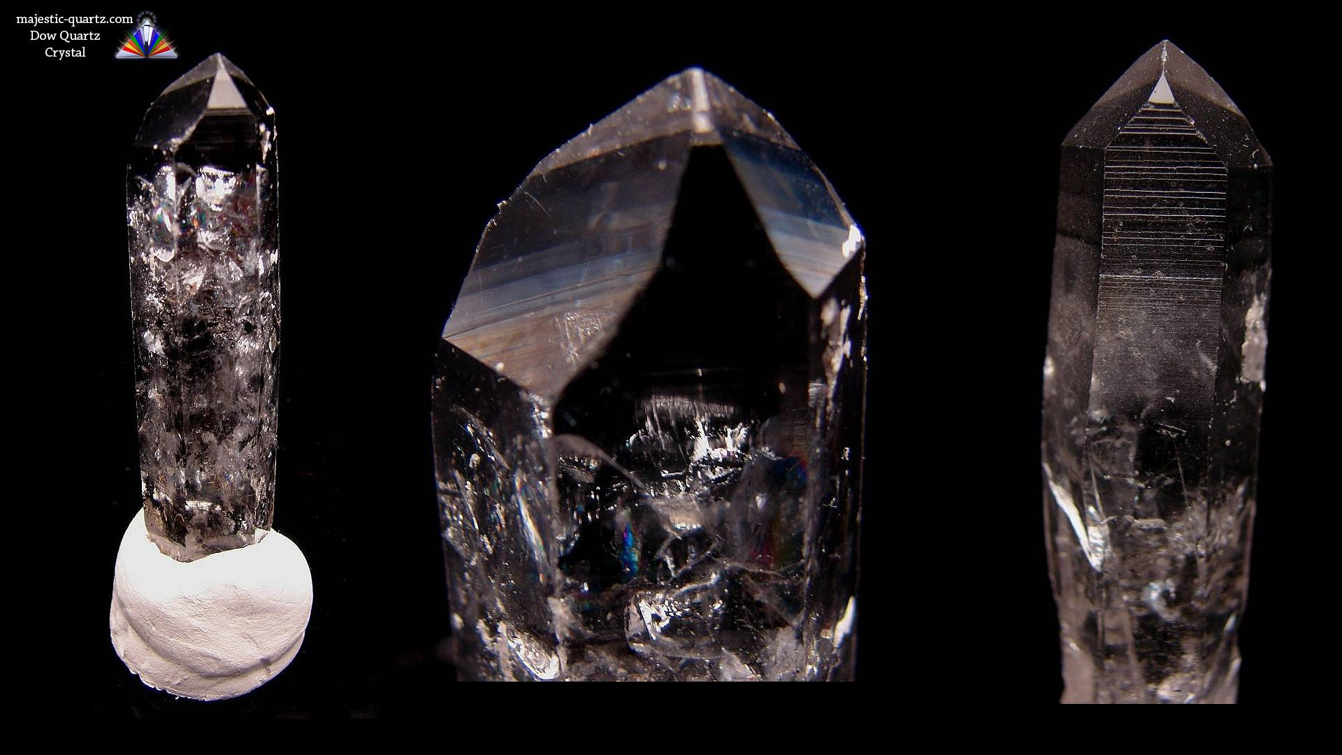 Quartz Dow Crystal - Photograph By Anthony Bradford