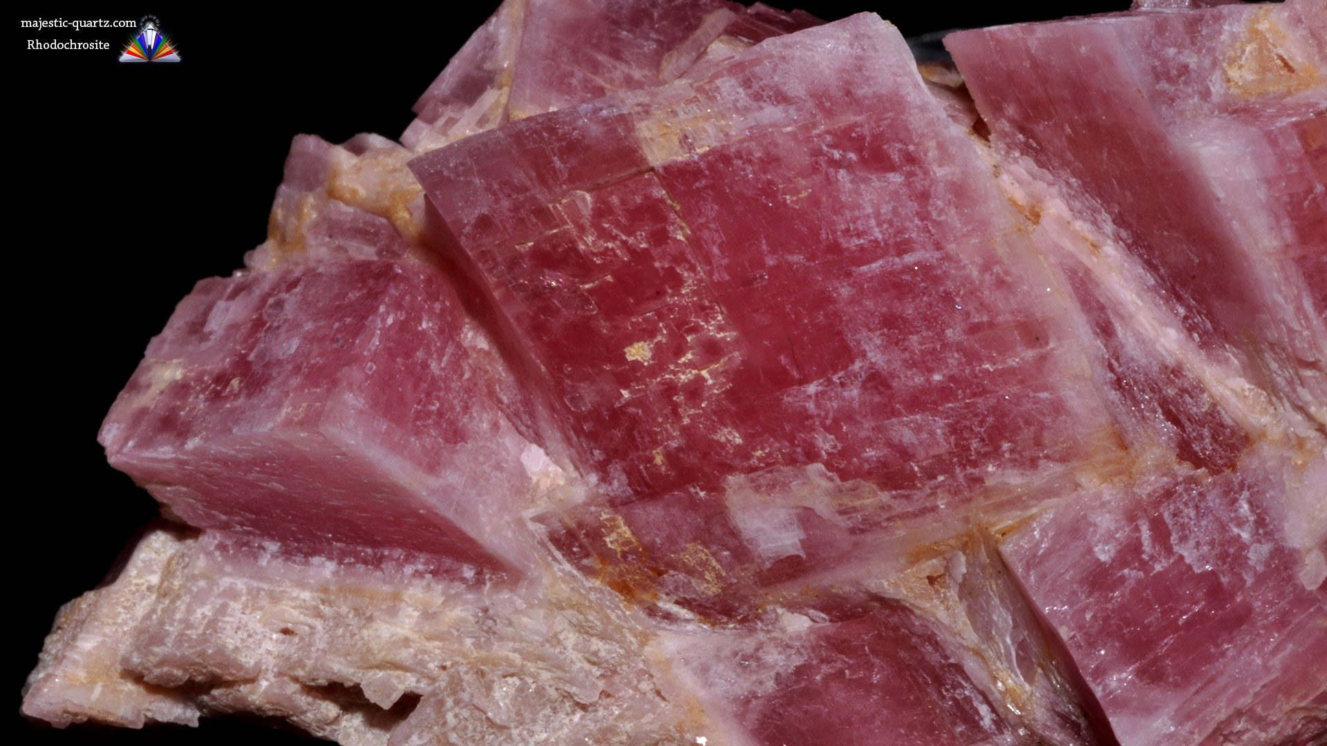 Rhodochrosite Properties and Meaning - Mineral Specimen