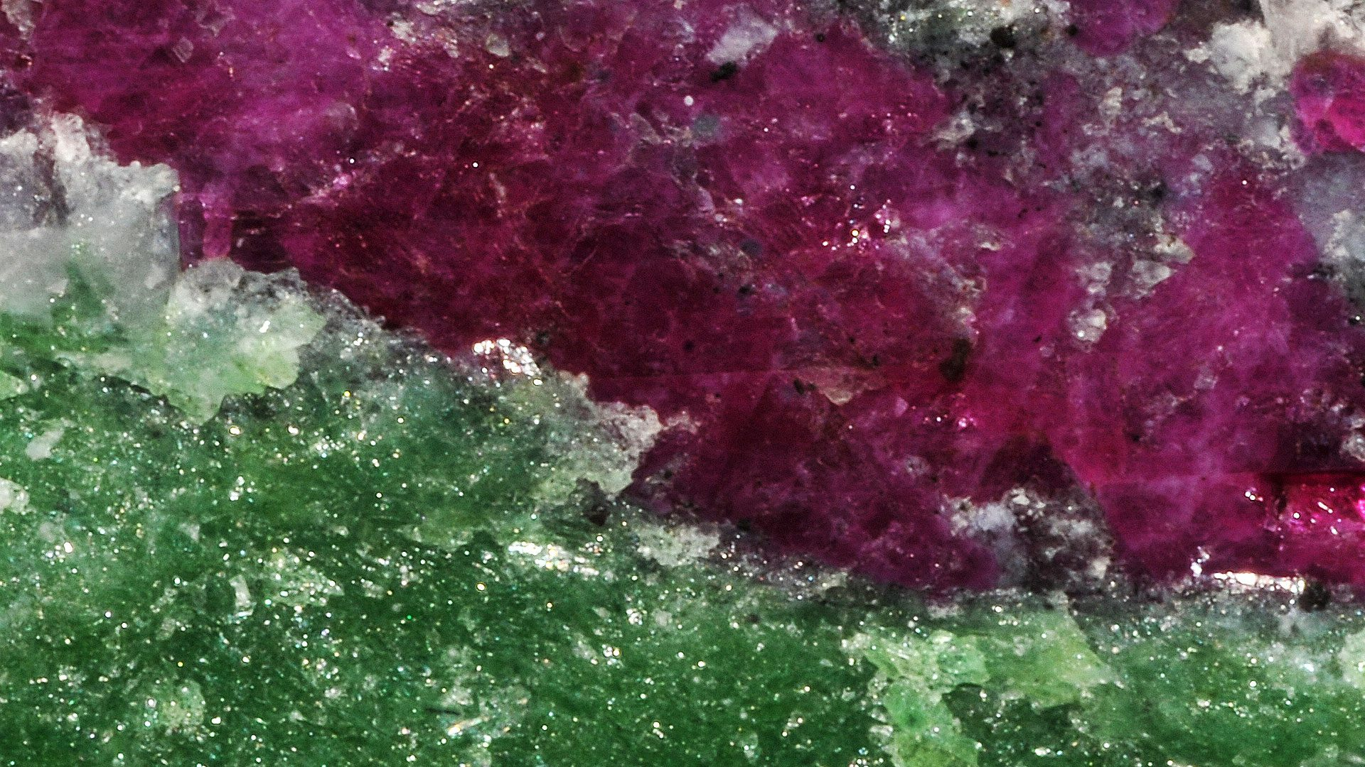 Ruby in Zoisite Properties and Meaning - Photograph by Parent Géry