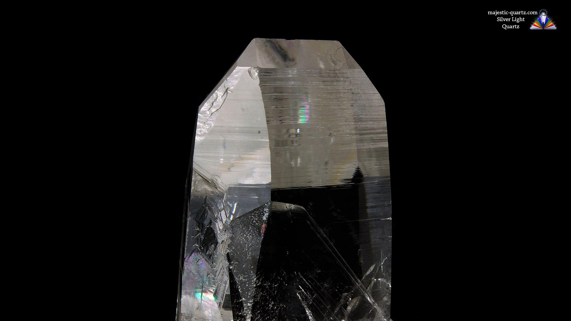 Silver Light Quartz Properties and Meaning - Photograph by Anthony Bradford
