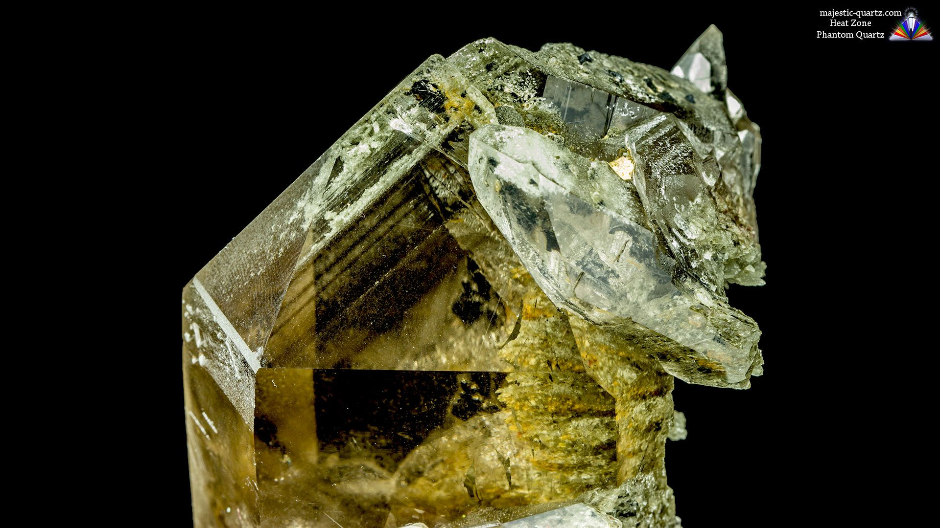 Phantom Quartz Properties and Meaning - Photograph by Anthony Bradford