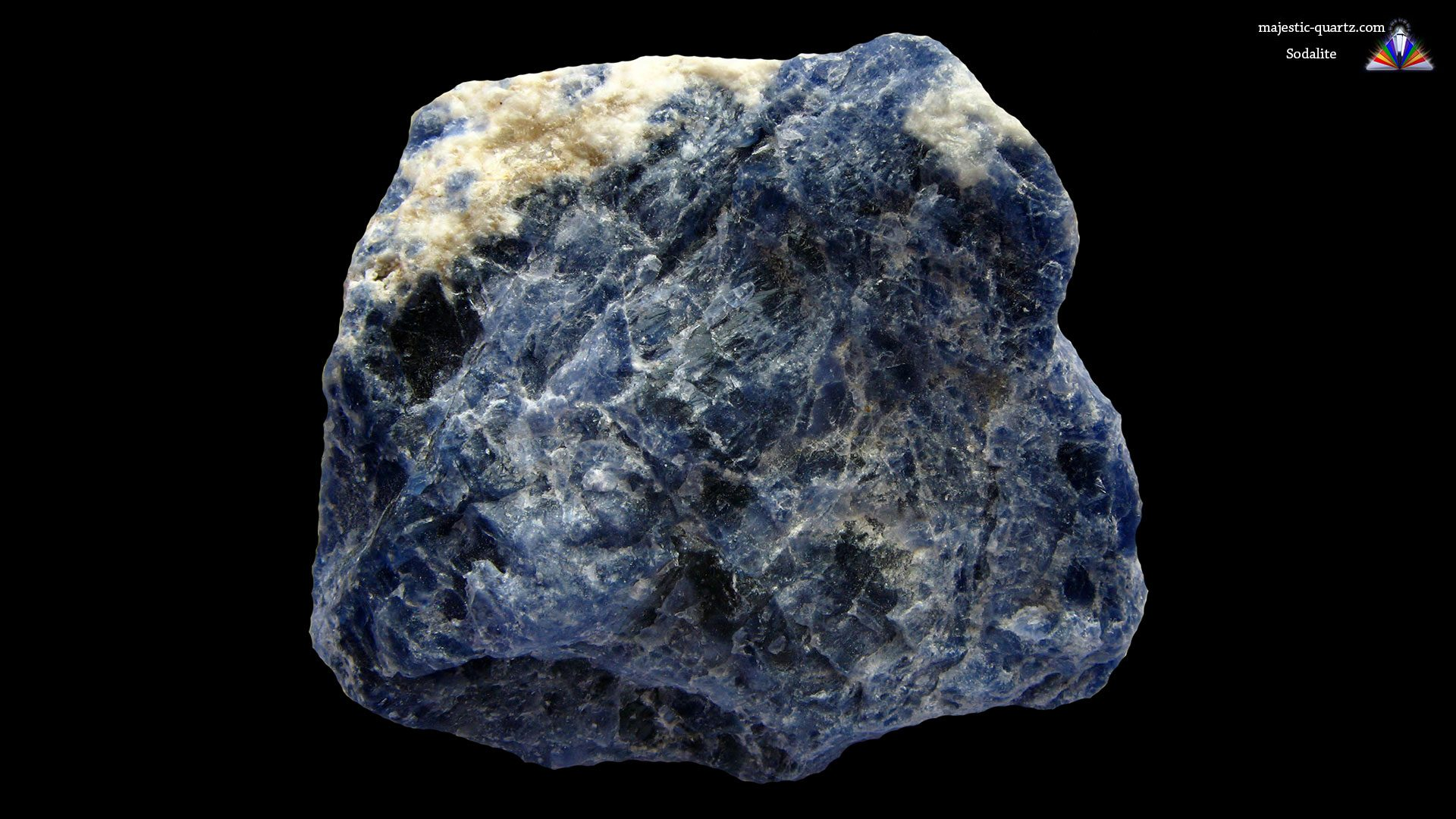 Sodalite massive/rough Specimen - Mineral Specimen