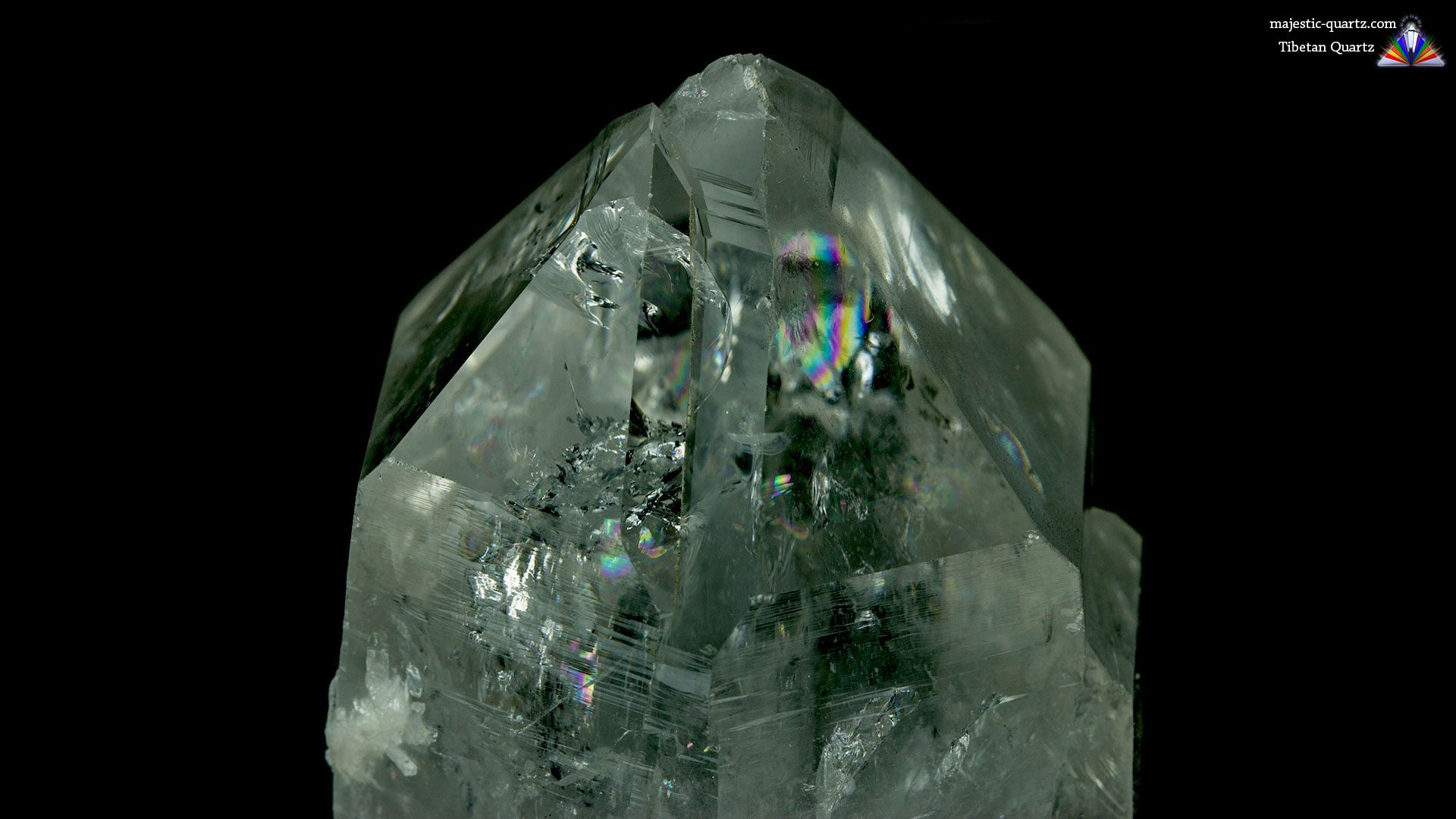 Tibetan Quartz Properties and Meaning - Photograph by Anthony Bradford