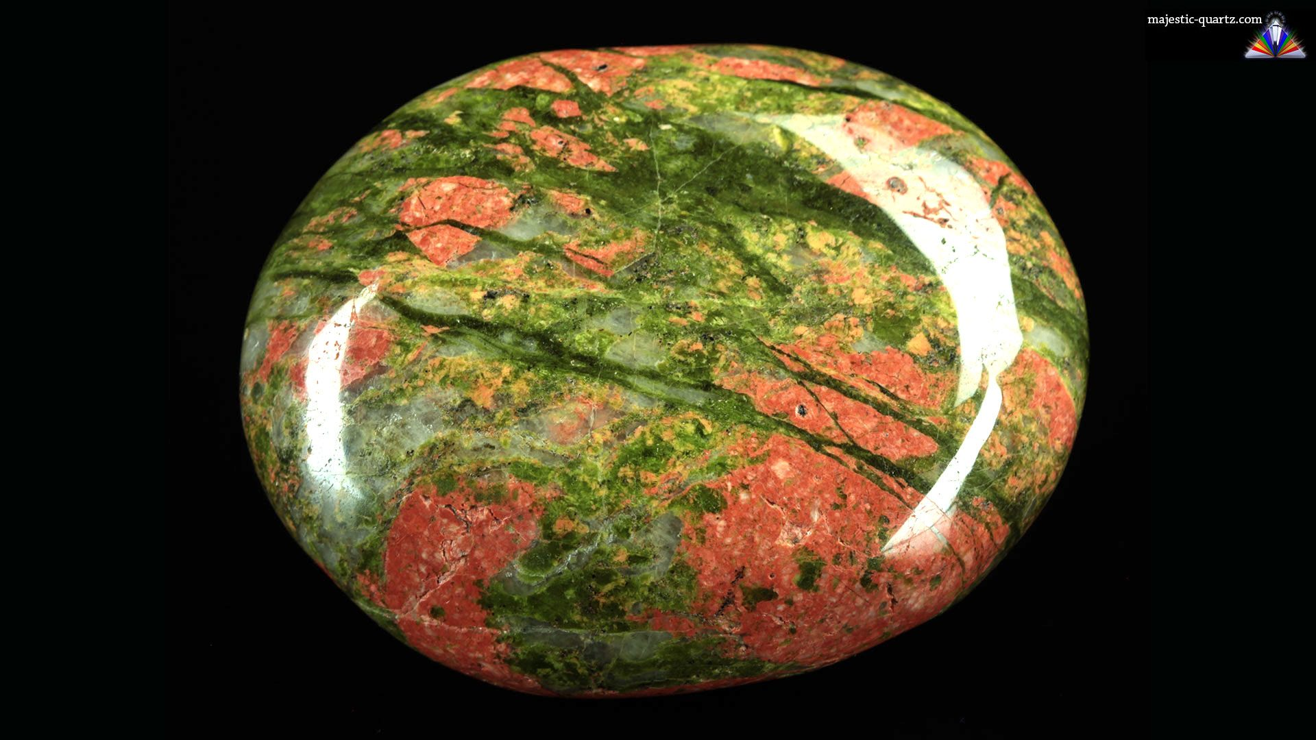 Unakite Properties and Meaning - Photograph by Anthony Bradford