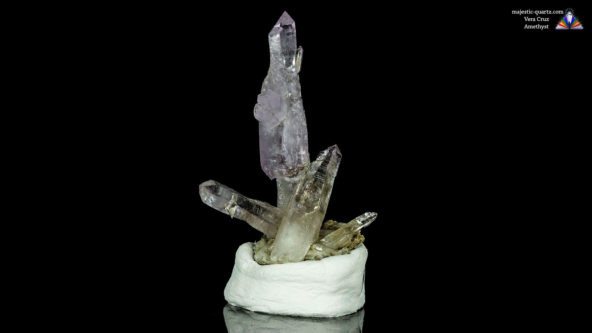 Vera Cruz Amethyst Scepter Cluster - Photograph By Anthony Bradford