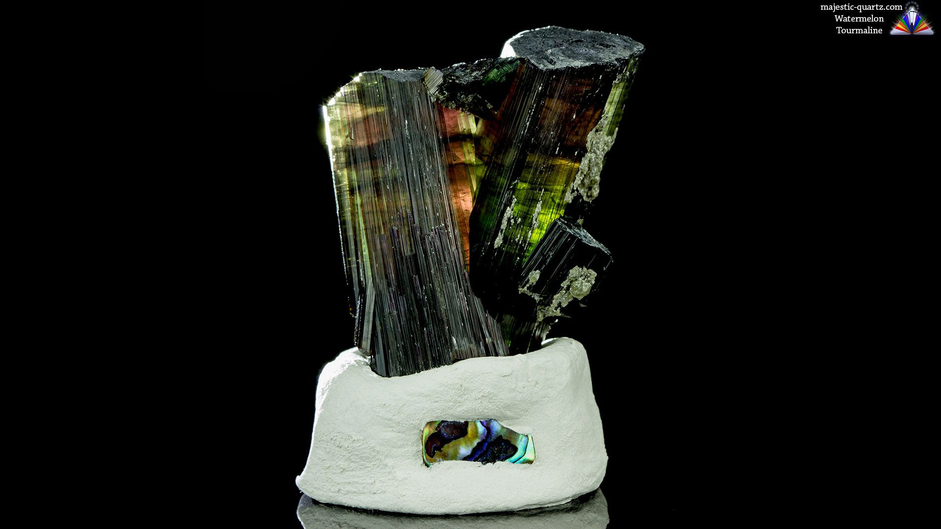 Watermelon Tourmaline Properties and Meaning - Photograph by Anthony Bradford